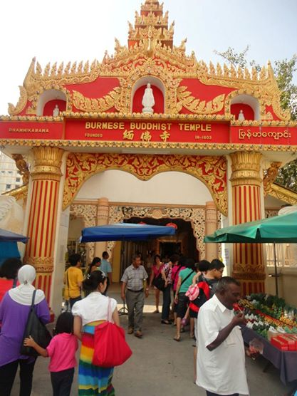burmese temple