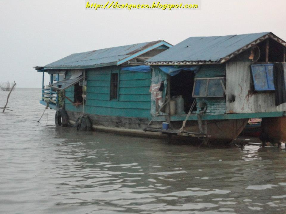 siam rep, floating village