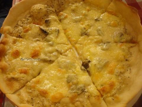 a la crema pizza