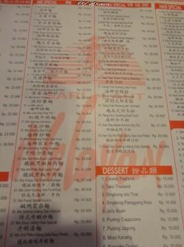 Beberapa menu yang ada ;) Bingung dijamin...