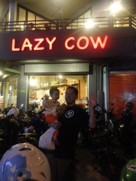 lazy cow solo