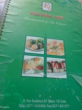 buku menu kusuma sari