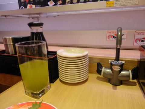 keran air panas genki sushi