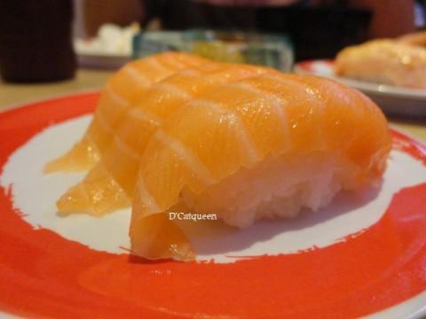 salmon supreme nigiri