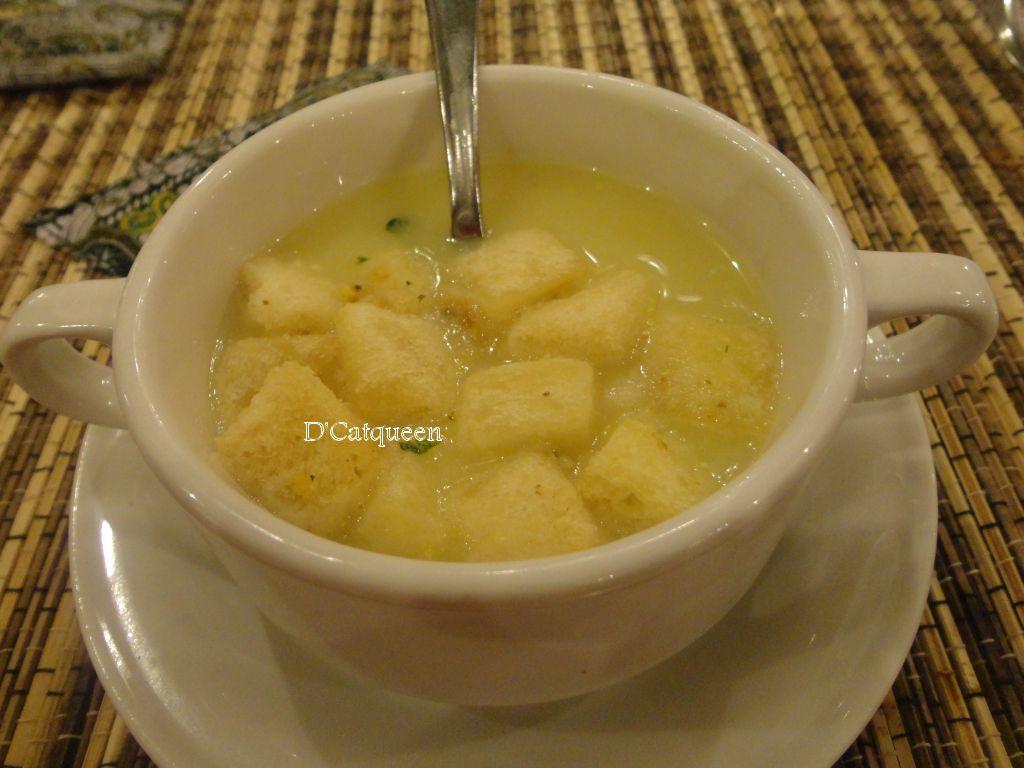 sup jagung sekar kedhaton