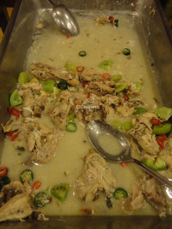 ayam masak bumbu putih sekar kedhaton