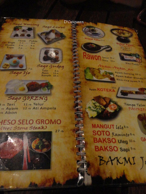 menu di raminten