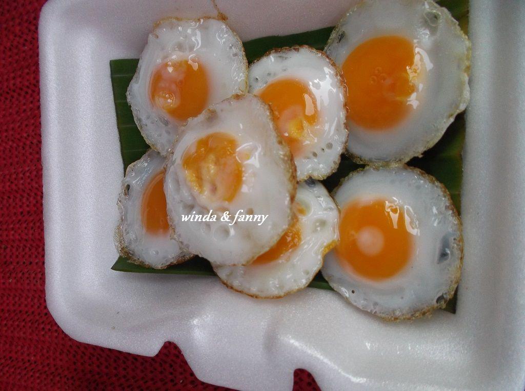 telur puyuh goreng