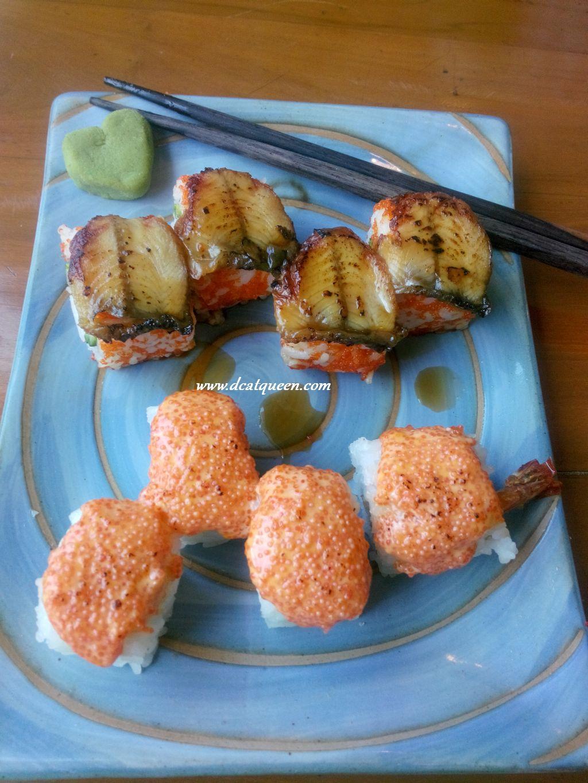 california unagi sushi