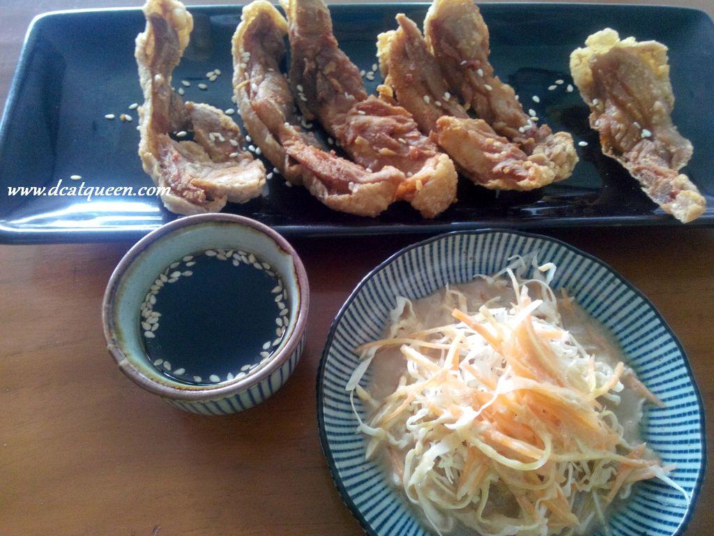 crunchy chicken teriyaki