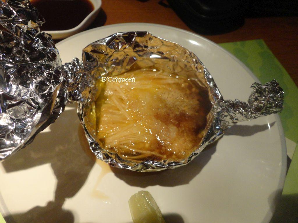 enoki miso soup