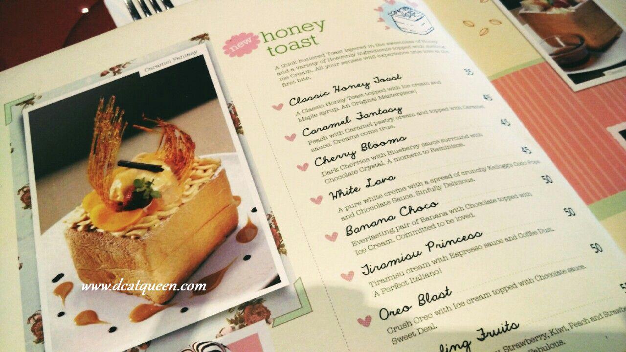 menu di beatrice quarters