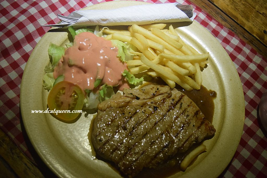 sirloin steak ala suis