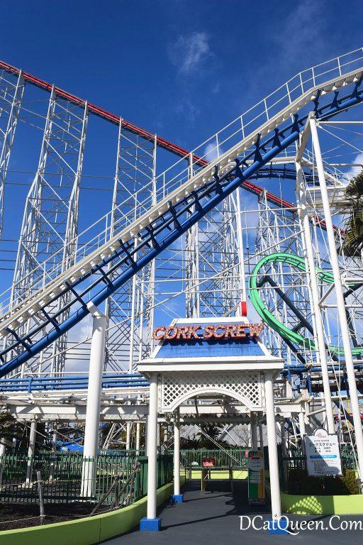 corkscrew rollercoaster