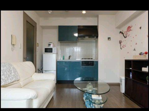 ruang tv dan dapur
