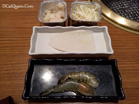 yakiniku, seafood, kintan buffet