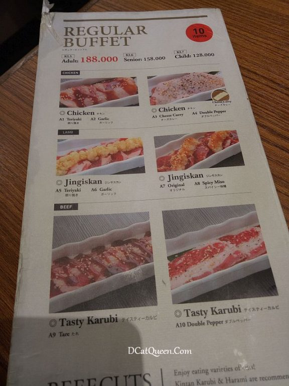 yakiniku, all you can eat, japanese bbq