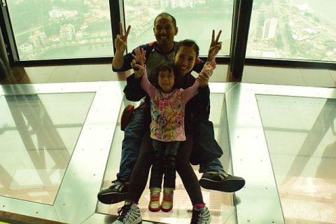 bungee jumping di macao tower