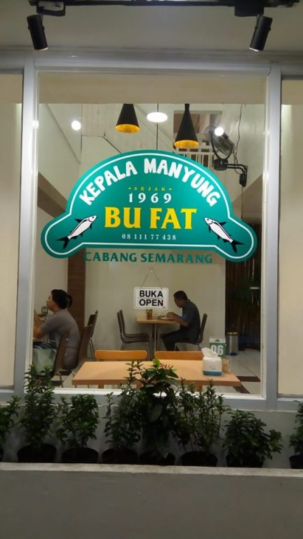 review mangut manyung enak di jakarta, mangut manyung bu fat cempaka putih