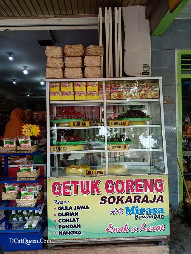 di mana beli oleh-oleh purwokerto, tempat murah dan enak beli oleh-oleh, mendoan enak di purwokerto, mirasa keripik tempe, getuk purwokerto
