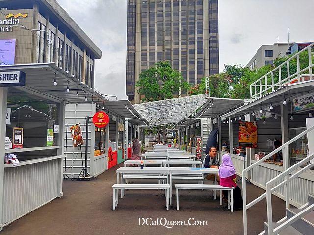 park and ride thamrin 10, pusat kuliner thamrin10, rekomendasi makanan enak di thamrin 10, harga makanan di thamrin10, lokasi thamrin 10