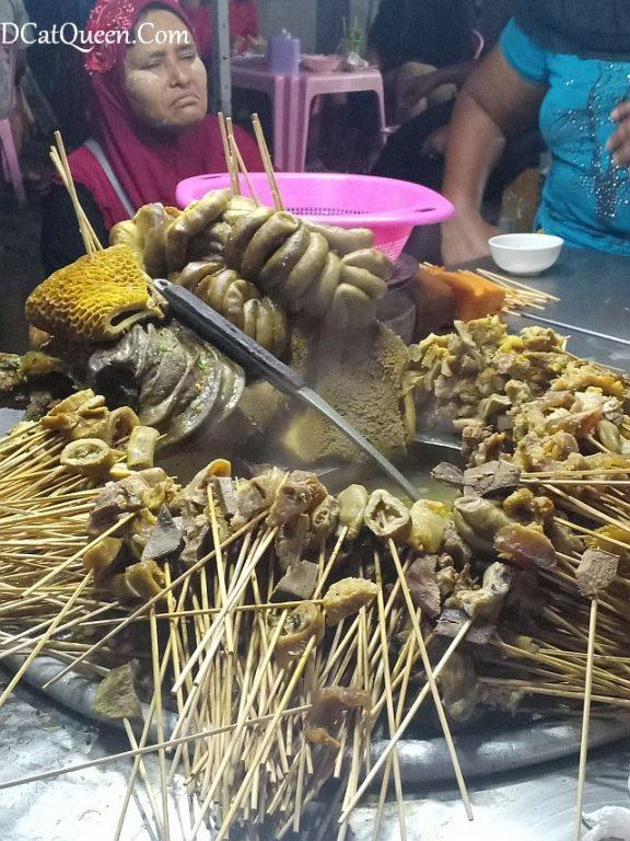 sate jeroan myanmar halal