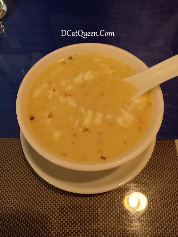 SWEET CORN SOUP INDIAN HUT