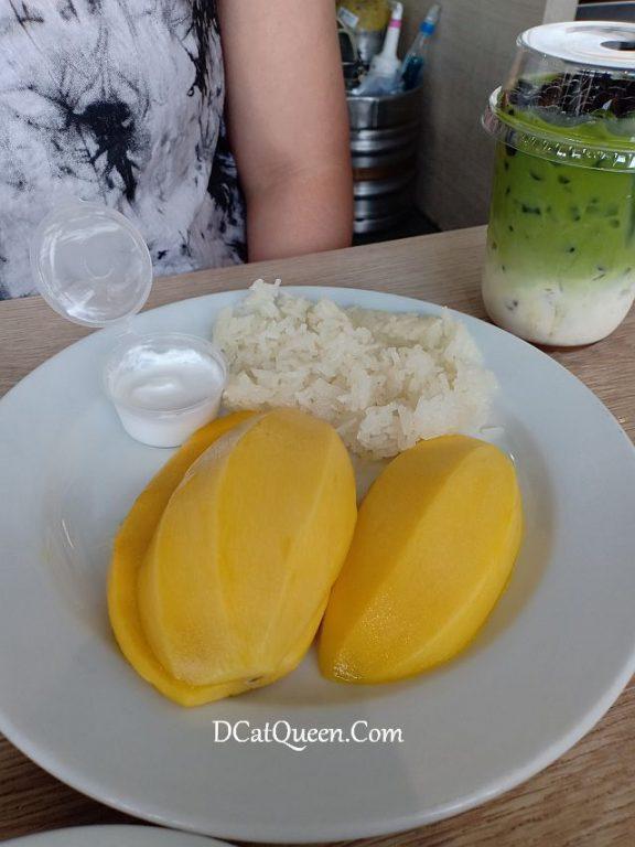rekomendasi wisata kuliner bangkok, mango sticky rice