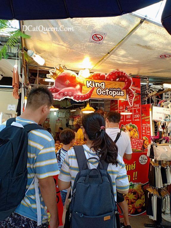 king octopus, kuliner bangkok