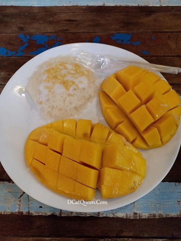 mango sticky rice chactuchak