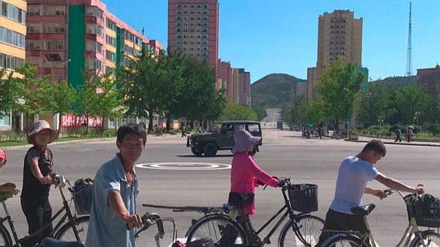 warga lokal korea utara