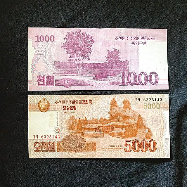 mata uang korea utara, won korea utara