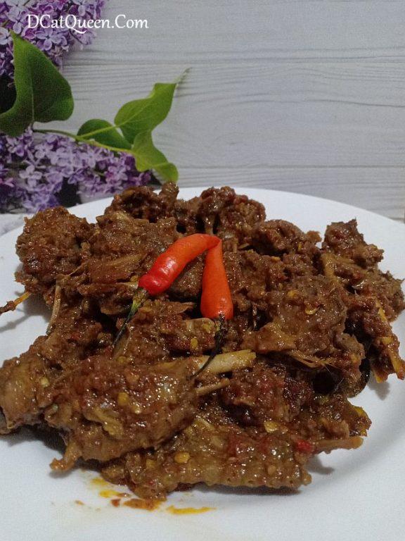 ENTOG RICA, kuliner indonesia