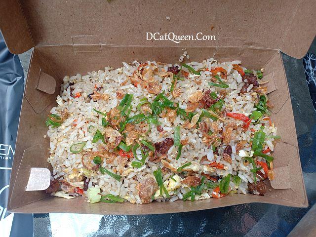 review nasi goreng dendeng lemak chef tiarbah