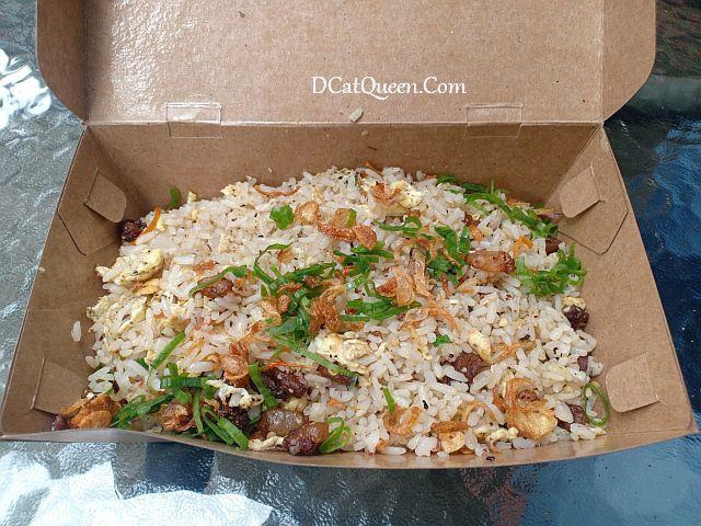 review nasi goreng dendeng lemak tiarbah